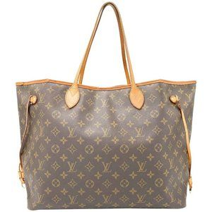 Louis Vuitton Neverfull Gm Brown Monogram Canvas